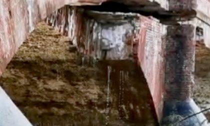 Maltempo, Formigliana: il ponte sul Cervo – Video