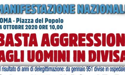 Basta aggressioni: una delegazione del Sap Vercelli a Roma