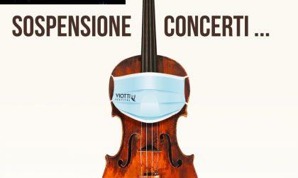 Sospesi i concerti del Viotti Festival