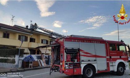 Incendio a Vercelli spento dai Vigili del Fuoco