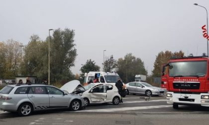 Incidente stradale: un ferito in codice giallo