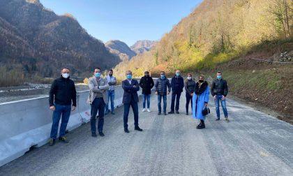 Riaperta la SP9 della Val Mastallone