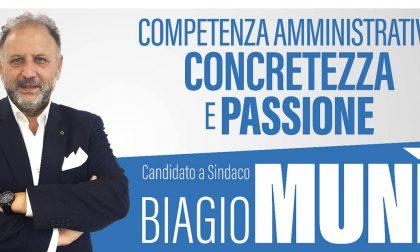 Santhià: Biagio Munì candidato sindaco
