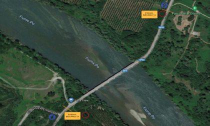 Ponte sul Po di Trino: chiusura al traffico totale