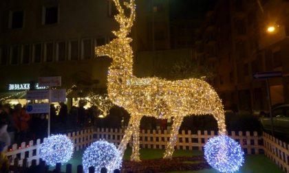 Evento social per l'accensione delle luci di Natale