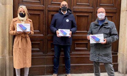 Didattica a distanza: donati nuovi tablet con Biud10