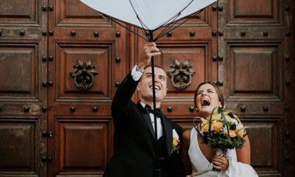 Giulia e Marco dall'oratorio al sì in pandemia