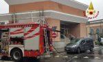 Incendio al Centro Salute Mentale di Vercelli
