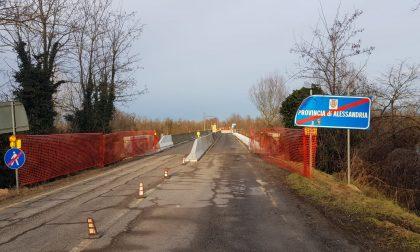 Ponte del Po a Trino: altri lavori, senso unico alternato