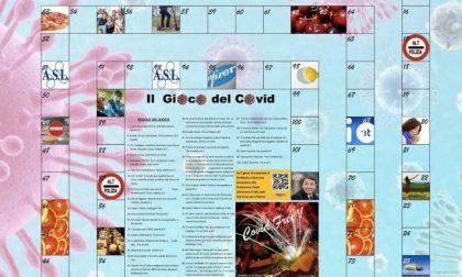 """Davide Ferrari, ex sindaco di Galliate, inventa il """"Gioco del Covid"""""""