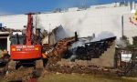 Incendio a Masserano: intervento della squadra speciale novarese