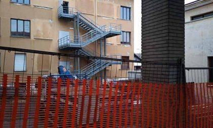 Santhià: lavori in corso in città
