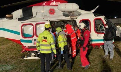 Morta la bimba di tre anni ferita nell'incidente della SP11