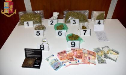 Aveva quasi mezzo chilo di marijuana giovane arrestato