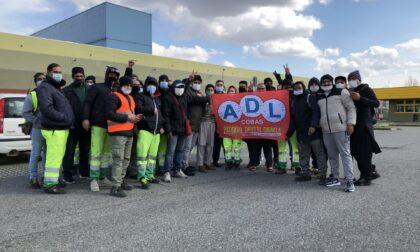 Sciopero dei lavoratori ai magazzini Nova Coop