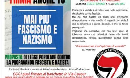 Vercelli Antifascista: raccolta firme per la legge Stazzema