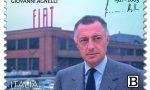 Francobollo commemorativo di Giovanni Agnelli