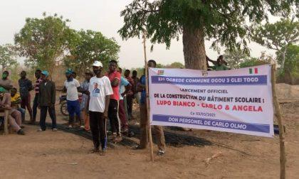 Festa a Glie in Togo per la scuola donata da Carlo Olmo