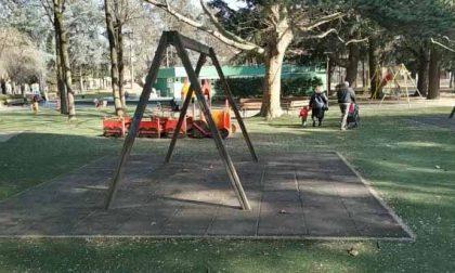 Parco Camana pulito a metà
