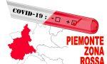 Piemonte in rosso: da lunedì 15 marzo