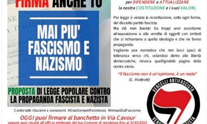 Legge Stazzema: nuova raccolta firme sabato 13 marzo in via Cavour