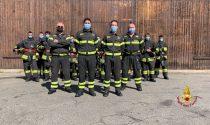 Vigili del Fuoco: 15 nuovi volontari per la provincia di Vercelli