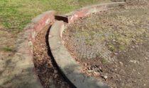 Parco Camana invaso dalle foglie: la segnalazione