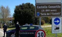 Positivo in quarantena fermato e denunciato dai Carabinieri