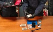 Un arresto e una denuncia per detenzione di stupefacenti