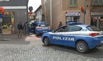 Polizia in forze in corso Prestinari