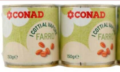 Attenzione al farro Conad con dentro per sbaglio… la soia