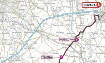 Giro d'Italia; la seconda tappa passa da Tricerro, Vercelli e Borgo Vercelli