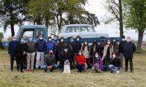 Studenti in visita a Stroppiana da Marazzato