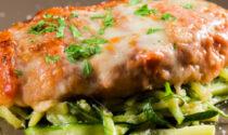 Finta parmigiana di zucchine