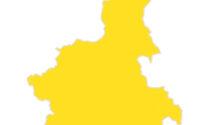 Piemonte in giallo da lunedì 26 aprile