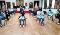 Musei aperti: studenti a lezione al Borgogna