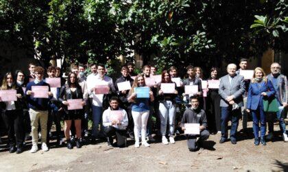 Iti Vercelli: consegnate 39 borse di studio