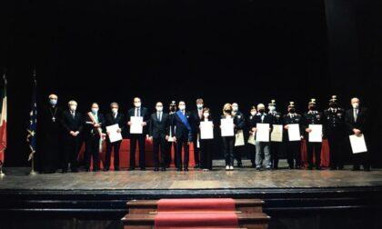 Tutti gli insigniti di onorificenze premiati al Civico