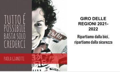 Paola Gianotti fa tappa a Vercelli per il giro delle Regioni