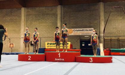 Pioggia di vittorie per le ginnaste ArtAcrobatica ai regiobali Uisp di Torino
