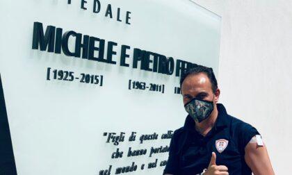 Cirio vaccinato venerdì 25 giugno all'Hub dell'ospedale di Verduno