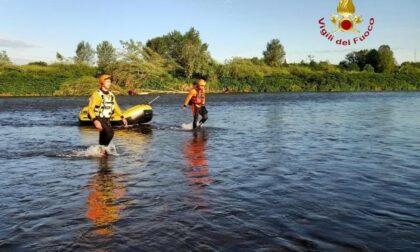 Ritrovato nel fiume Sesia il corpo del ragazzo annegato
