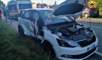 Golf contro Skoda: feriti in ospedale