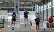 Alice Cometti sul podio della seconda prova del Campionato Italiano Master di Carrara