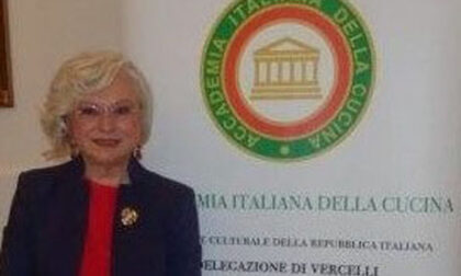 Paola Bernascone Cappi riconfermata delegata della Delegazione di Vercelli dell'Accademia italiana della Cucina per il triennio 2021-24