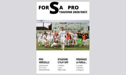 In edicola, in omaggio con Notizia Oggi Vercelli, il magazine della Pro Vercelli