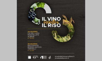 Un matrimonio fra vino e riso: tappa a Borgo Vercelli