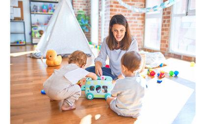 Come intrattenere i bambini della scuola privata d'infanzia