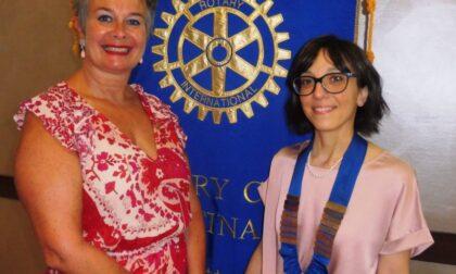 Rotary Club Gattinara: passaggio di consegne da Luisa Cerri a Simona Ramella Paia
