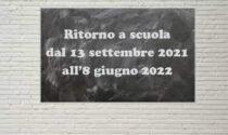 Calendario scolastico 2021-2022, Piemonte: ecco le date